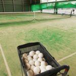 テニススクールでソフトテニス部門開講にあたりコーチに就任しました。