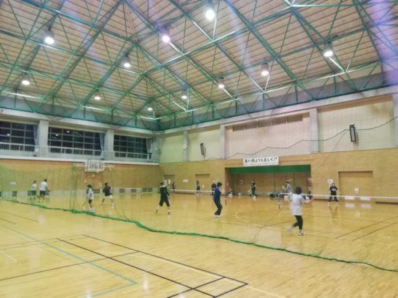 2018/09/26(水) スポンジテニス練習会 プラスワン・ソフトテニス ショートテニス フレッシュテニス 滋賀県近江八幡市