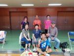 2018/09/28(金) 金曜日午前のソフトテニスな会が解散されるので行ってきました。