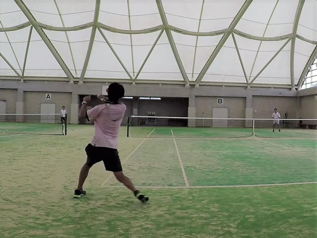 20180910(月) 二人で三時間ソフトテニス[動画]