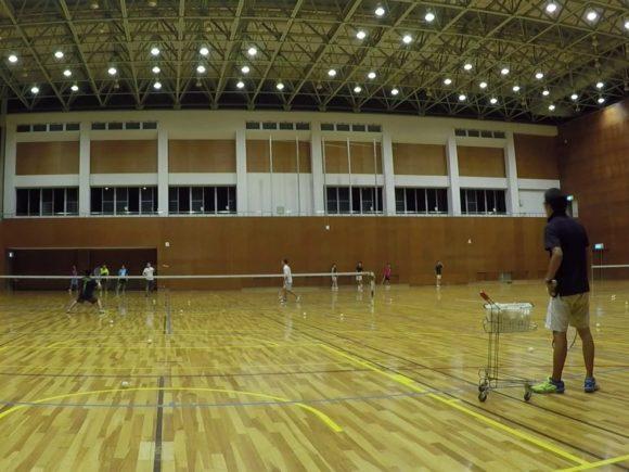 2018/09/11(火) 練習会 プラスワン・ソフトテニス