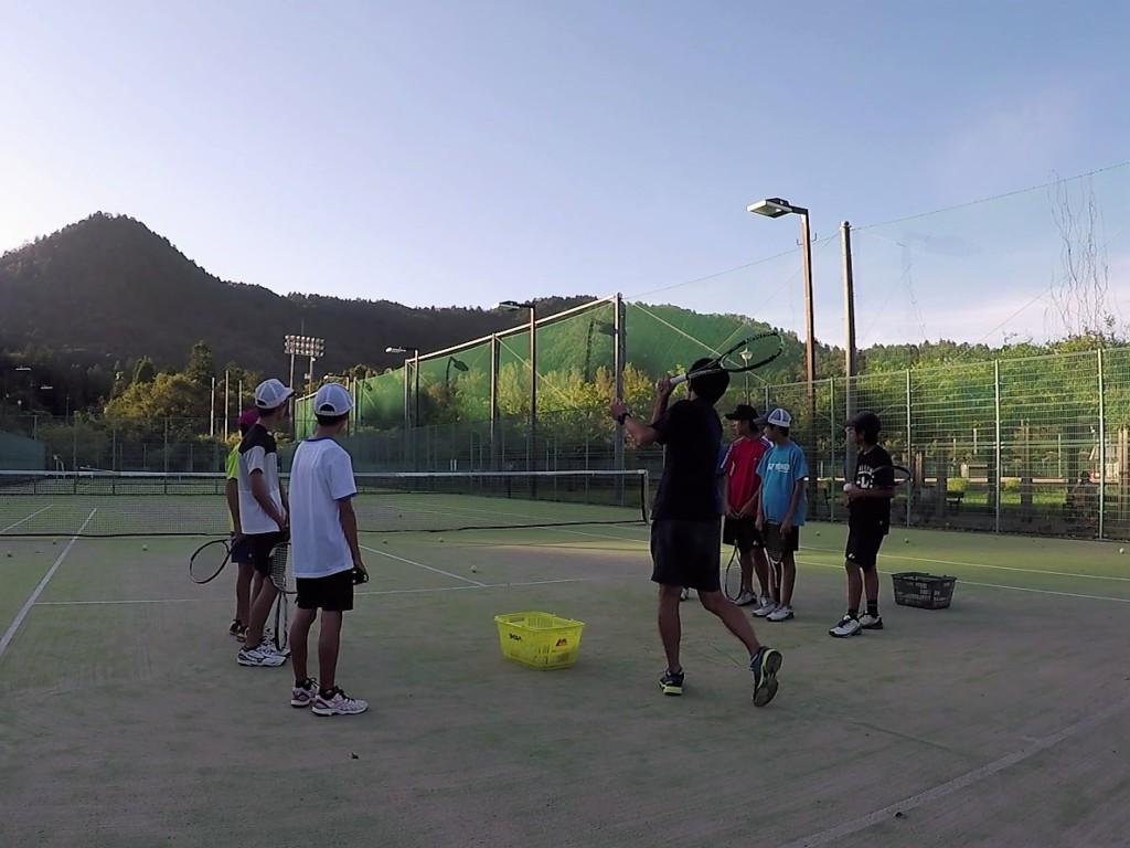 2018/09/19(水)夕方 練習会 プラスワン・ソフトテニス