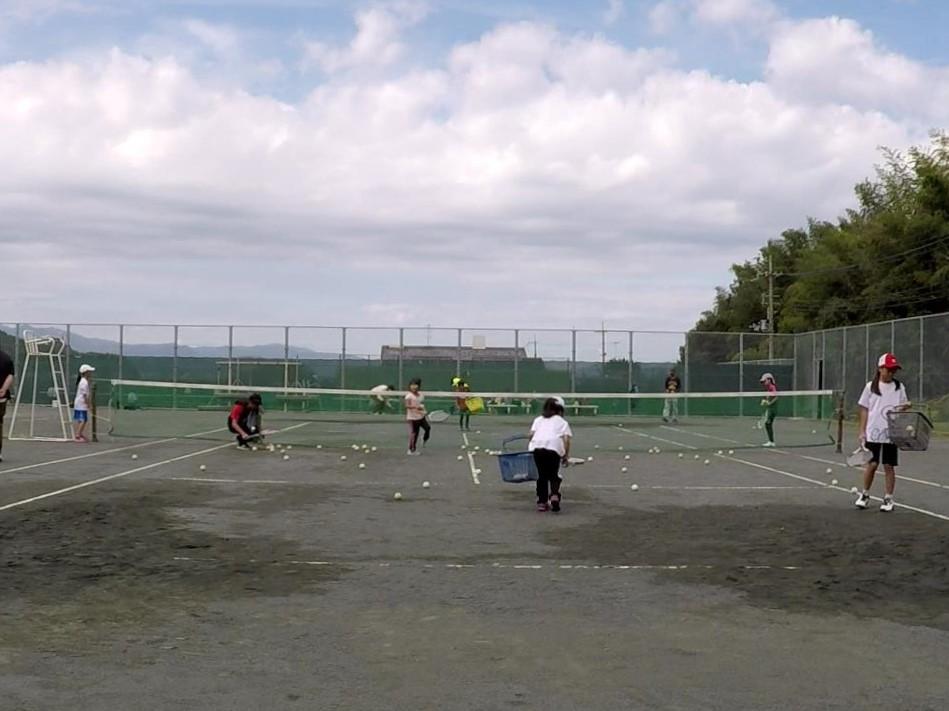 2018/10/06(土)午前 未経験者からの練習会 プラスワン・ソフトテニス