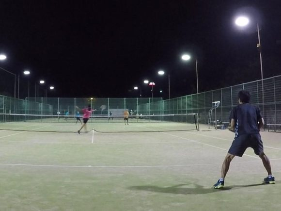 2018/09/28(金)  練習会 プラスワン・ソフトテニス