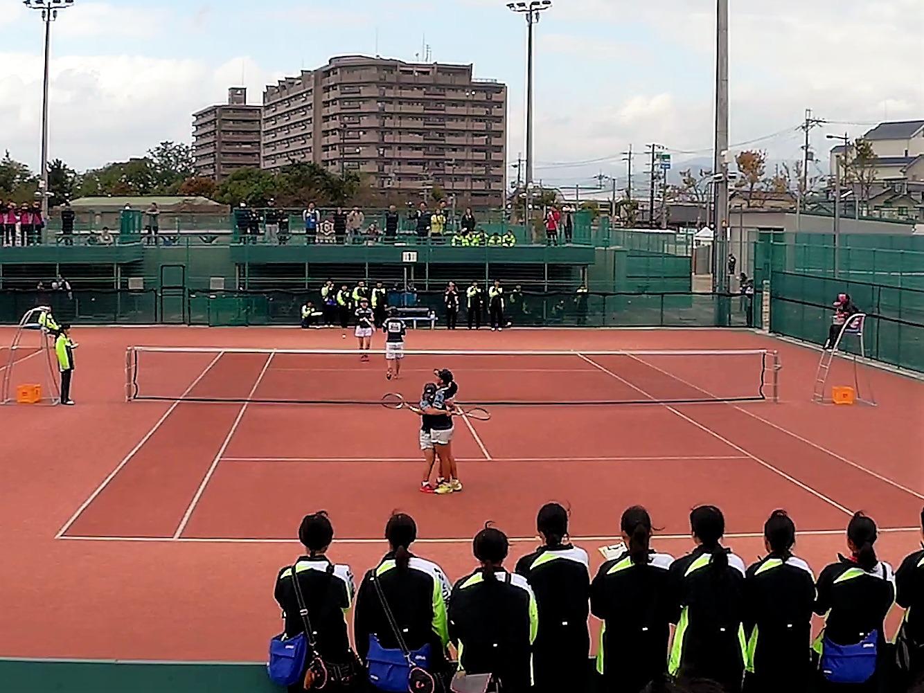 2018/10/25〜27 ソフトテニス滋賀県高校秋季大会