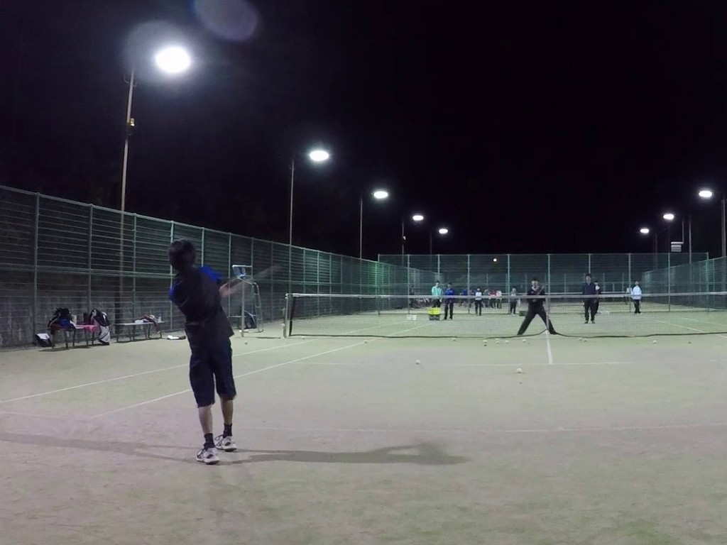 2018/10/27(土)夜間 初級者練習会 プラスワン・ソフトテニス