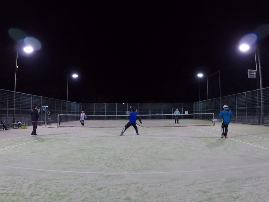 2018/11/16(金) ソフトテニス練習会 プラスワン