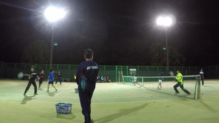 2018/11/06(火) ソフトテニス練習会 プラスワン