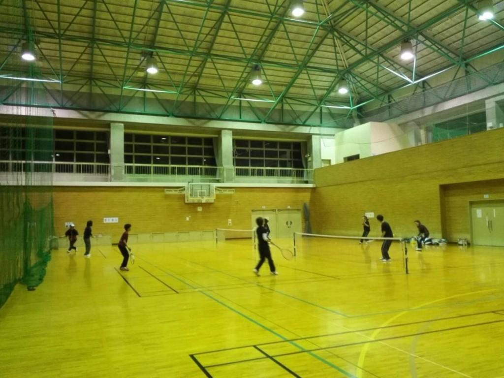 2018/11/26(月) スポンジテニス練習会 プラスワン 滋賀県近江八幡市 ショートテニス