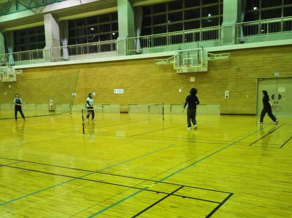2018/12/17(月) スポンジテニス練習会 プラスワン ショートテニス フレッシュテニス