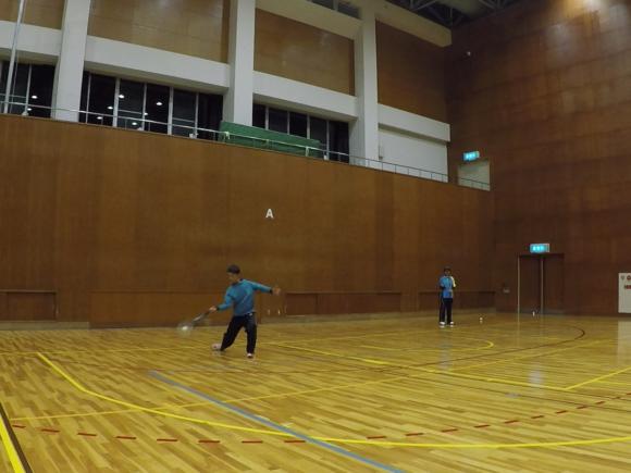 2018/12/11(火) ソフトテニス練習会 プラスワン