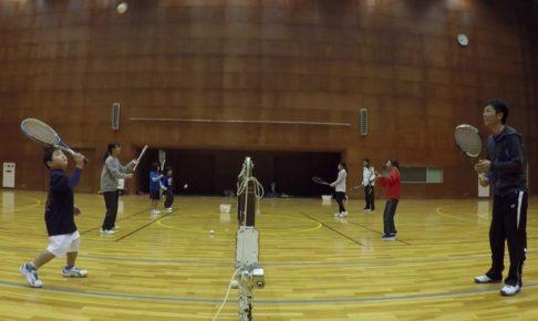 2018/12/19(水) ソフトテニス 初級者練習会 プラスワン 滋賀県近江八幡市