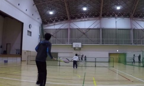2018/12/22(土) ソフトテニス未経験者~練習会 プラスワン 滋賀県 東近江市