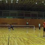 2018/12/25(火) ソフトテニス練習会 プラスワン