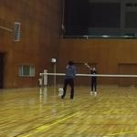 2019/01/23(水) ソフトテニス 初級者練習会 プラスワン