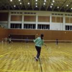 2019/01/15(火) ソフトテニス練習会 プラスワン