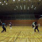 2019/01/19(土)ソフトテニス初級練習会@近江八幡市