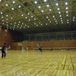 2019/01/21(月) ソフトテニス練習会@近江八幡市