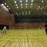 2019/01/21(火) ソフトテニス練習会 プラスワン