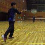 2019/02/11(月祝)ソフトテニス プチ大会@滋賀県近江八幡市