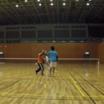 2019/02/19(火)ソフトテニス練習会@滋賀県近江八幡市
