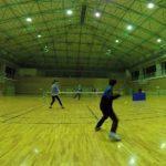 2019/01/30(水) スポンジテニス練習会(ショートテニス)@近江八幡市