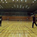 2019/02/02(土)ソフトテニス初級練習会@滋賀県近江八幡市