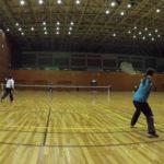 2019/02/05(火)ソフトテニス練習会@滋賀県近江八幡市