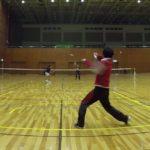2019/02/09(土)ソフトテニス練習会@滋賀県近江八幡市