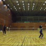 2019/02/13(水) ソフトテニス・初級者練習会@滋賀県近江八幡市