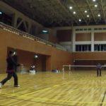 2019/02/18(月) ソフトテニス練習会@滋賀県近江八幡市