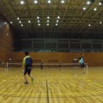 2019/02/26(火)ソフトテニス練習会@滋賀県近江八幡市