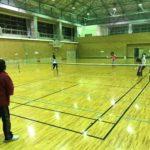 2019/02/27(水) スポンジテニス練習会(ショートテニス)@滋賀県近江八幡市