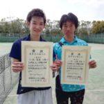 京都府長岡京市ソフトテニス春季選手権2019[結果]