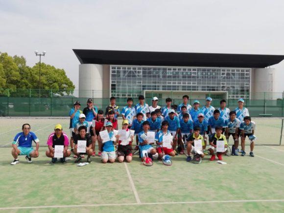 2019.05.26(日) 滋賀県近江八幡市ソフトテニス春季大会2019