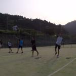 2019/06/19(水) ソフトテニス 夕方練習会@滋賀県東近江市