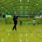 2019/05/29(水) スポンジテニス練習会(ショートテニス)@滋賀県近江八幡市