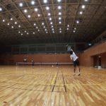 2019/06/17(月) ソフトテニス練習会@滋賀県近江八幡市