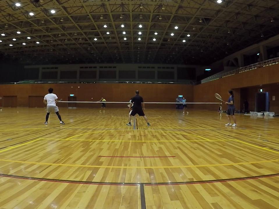 2019/08/04(火) ソフトテニス練習会@滋賀県近江八幡市