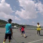 2019/08/24(土) ソフトテニス・未経験者練習会
