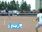 すごプレ・ソフトテニス ハイジャパ2019 ダブルス 男子 1回戦 澤田・荒木(羽黒高校)ー吉根・重森(とわの森三愛高校)