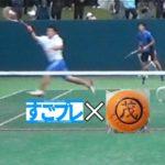すごプレコラボ01 ソフトテニス 全日本選手権2017 男子 5回戦 上岡・広岡(上宮高校)ー内本・星野(早稲田大学)