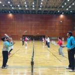 ソフトテニス練習会スペシャル 2014.01.28