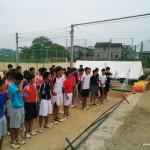 八幡工業高校ソフトテニス部2014