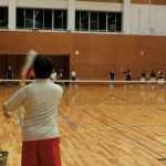ソフトテニス練習会 土曜日 2015.09.19