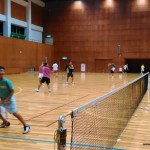 ソフトテニス練習会 土曜日 2015.09.05