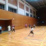 ソフトテニス練習会 2015.11.21 土曜日