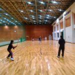 2016/04/22(金) 今日の練習会はフレッシュテニス(スポンジボールテニス)