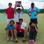 滋賀県野洲市ソフトテニス大会・夏の団体戦2012