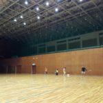 プラスワン・ソフトテニス練習会 2016/11/15(火)